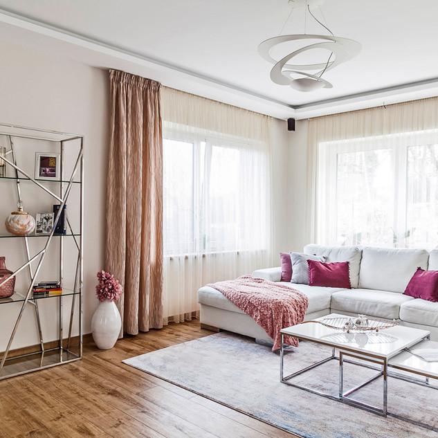 Home styling nappali