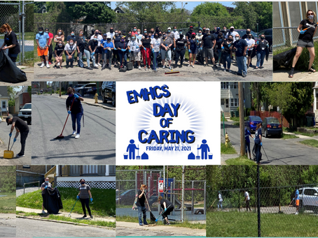 Our first EMHCS Day of Caring was a HUGE success!