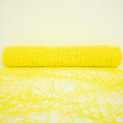 Makaron 50cm żółty