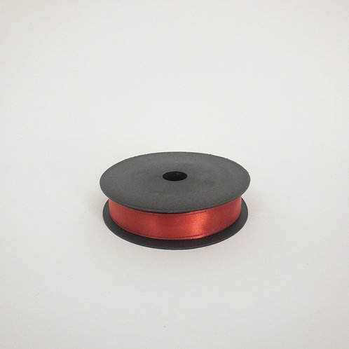 Atłas z drutem 25mm czerwony