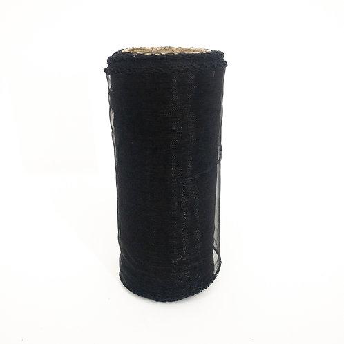 Organza 12cm czarny BS096