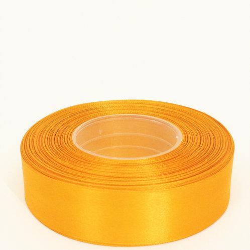 Atłas 25mm jasny mieniący pomarańcz