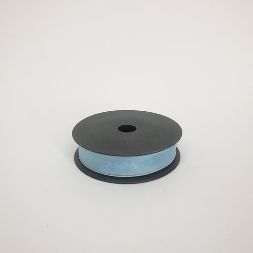 Szyfon z drutem 25mm błękit