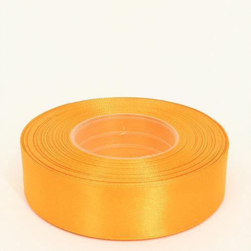 Atłas 25mm jasny pomarańcz