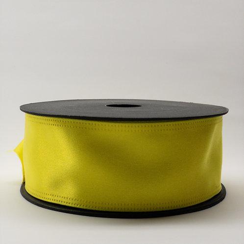 Atłas z drutem 40mm żółty