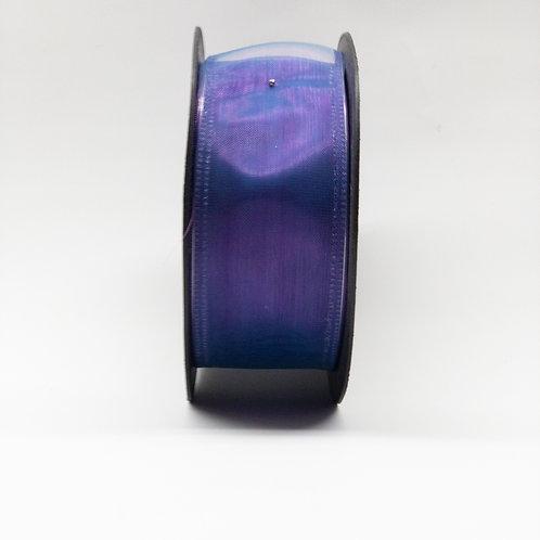 Szyfon z drutem 40mm mieniący fiolet