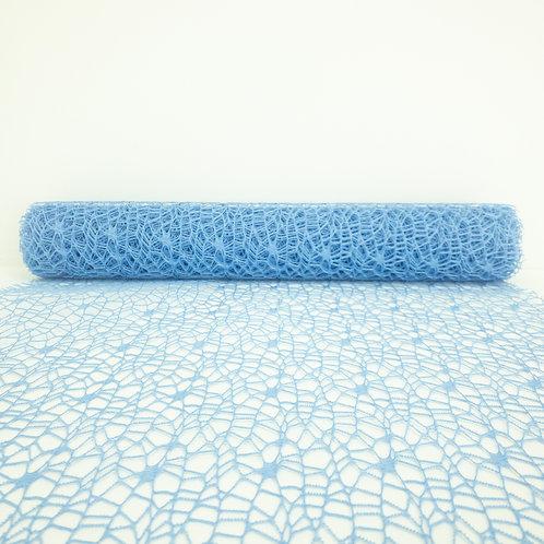 Koronka 50cm niebieski