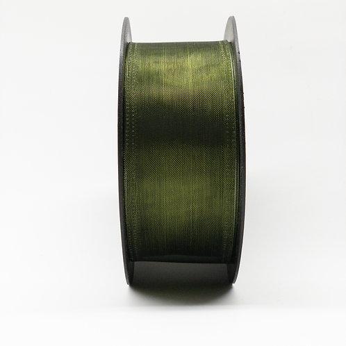 Szyfon z drutem 40mm ciemna oliwka