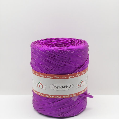 Rafia włoska ostry fiolet