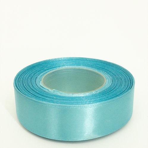 Atłas 25mm jasny niebieski
