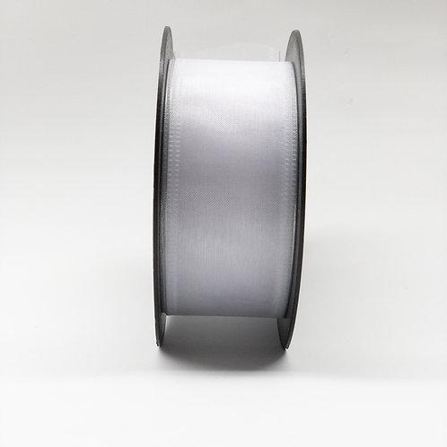 Szyfon z drutem 40mm biały