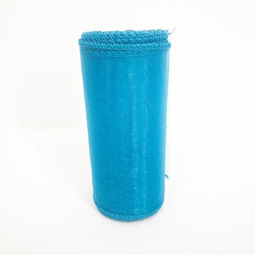 Organza 12cm niebieski 5059