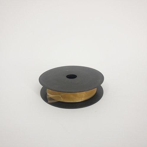 Szyfon z drutem 25mm brąz
