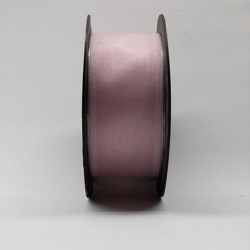 Szyfon z drutem 40mm różowy