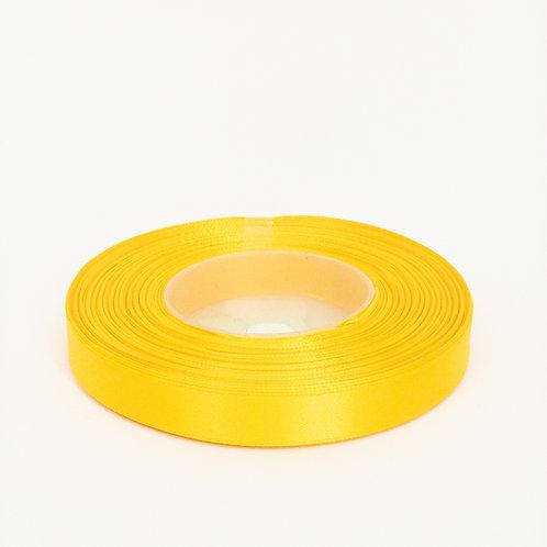 Kopia Atłas 1cm ciemny żółty