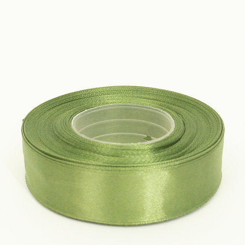 Atłas 25mm brudna zieleń