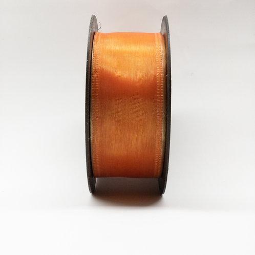 Szyfon z drutem 40mm pomarańcz mieniący