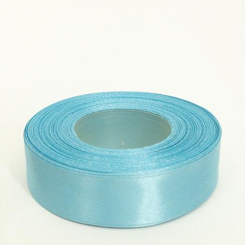 Atłas 25mm błękit