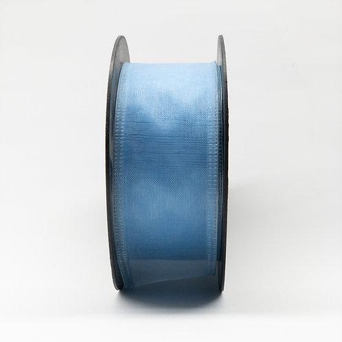 Szyfon z drutem 40mm niebieski