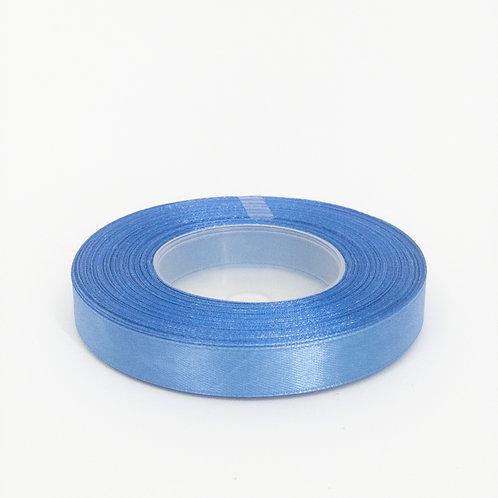 Atłas 1cm blady niebieski