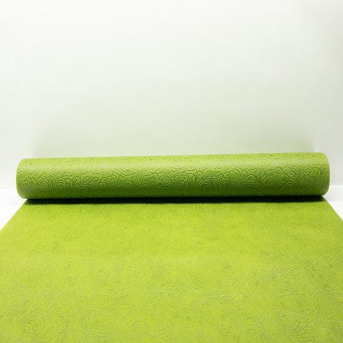 Fizelina tłoczona jasna zieleń