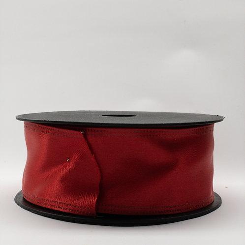 Atłas z drutem 40mm czerwony