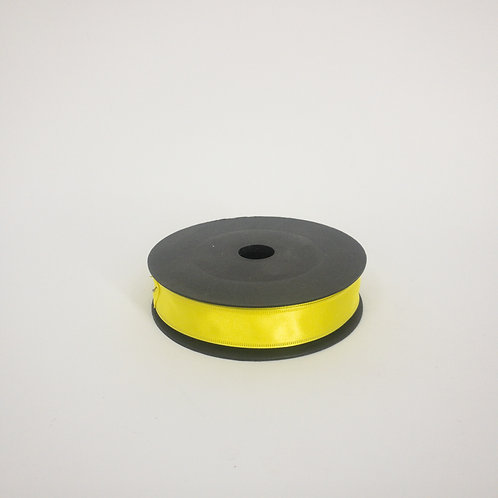Atłas z drutem 25mm żółty