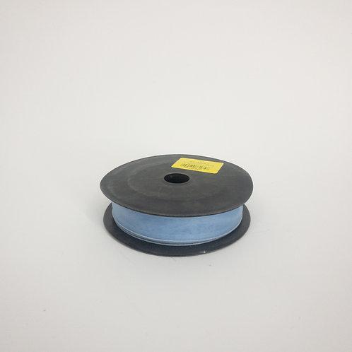 Szyfon z drutem 25mm niebieski