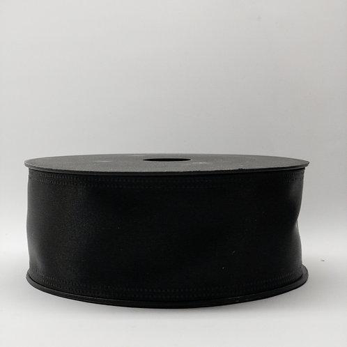 Atłas z drutem 40mm czarny