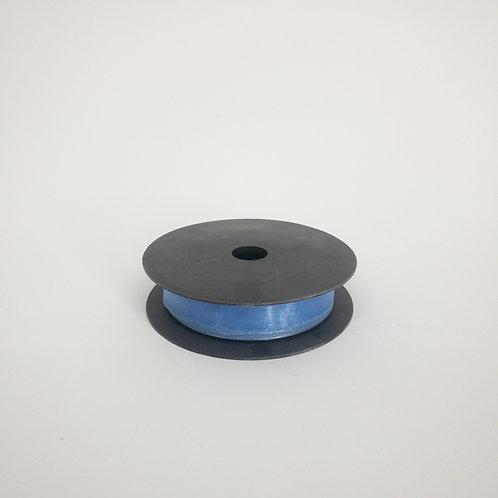 Szyfon z drutem 25mm ciemny niebieski