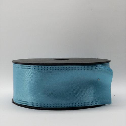 Atłas z drutem 40mm błękit