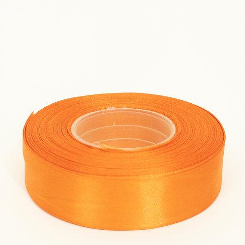 Atłas 25mm pomarańcz