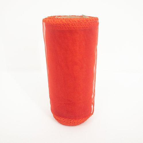 Organza 12cm czerwony 5040
