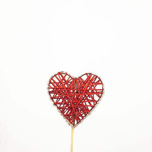 Piki serce czerwone