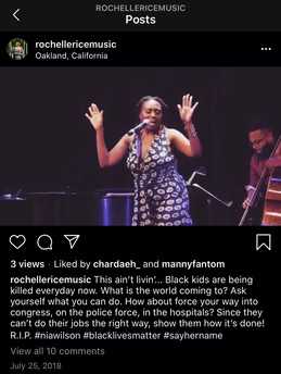 With my help I was able to send a clear message and showcase her passion and talents through this uplifting post. It eventually earned over 300 views within the first day.