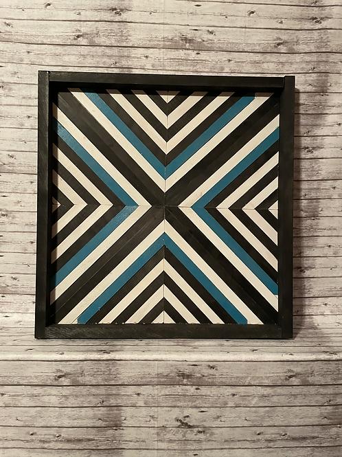 Wood Barn Quilt (SEALED W/ EPOXY)