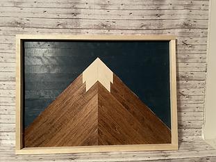 Wooded Mountain (NOT SEALED W/ EPOXY)