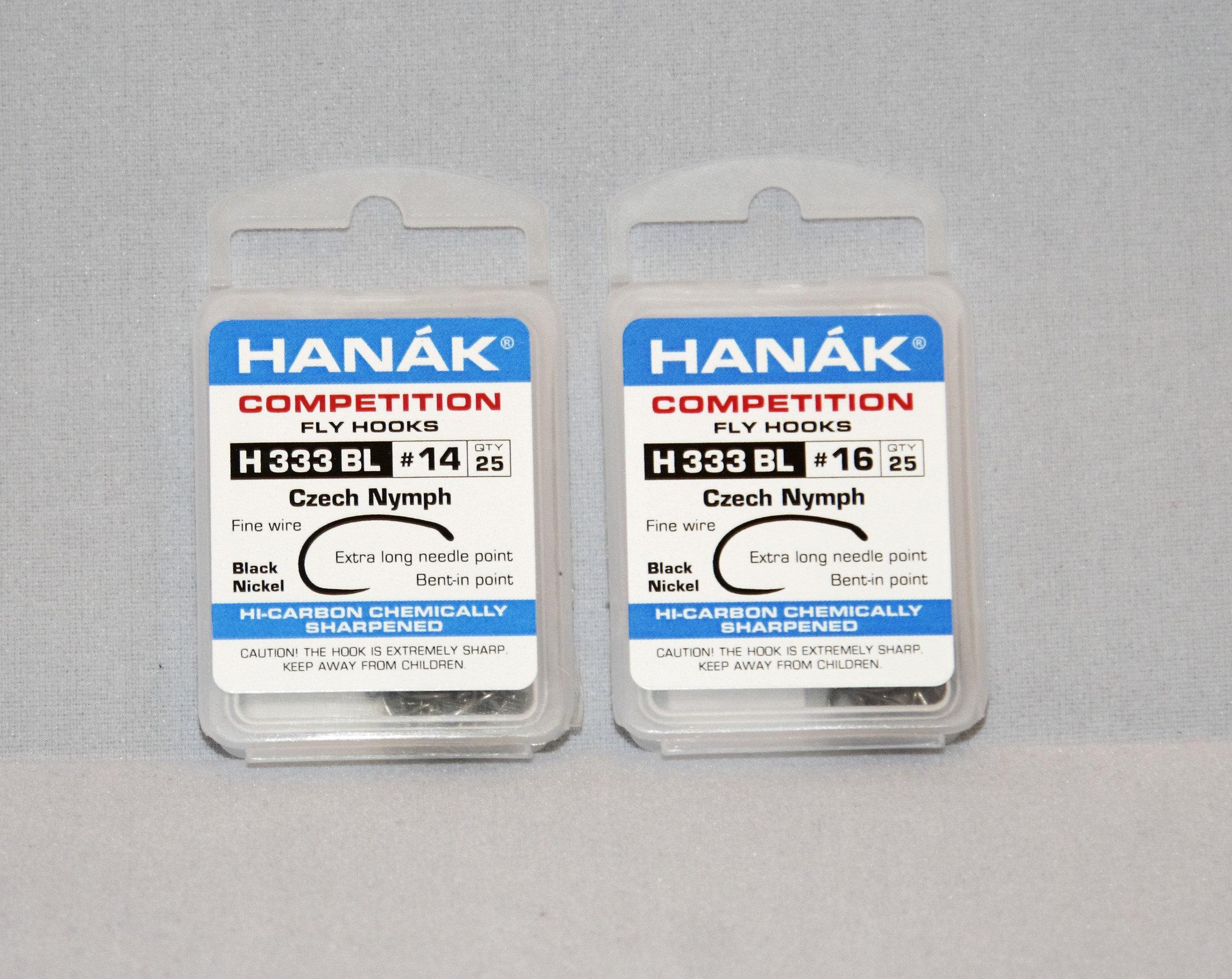 Hanak H333BL Czech Nymph Hooks