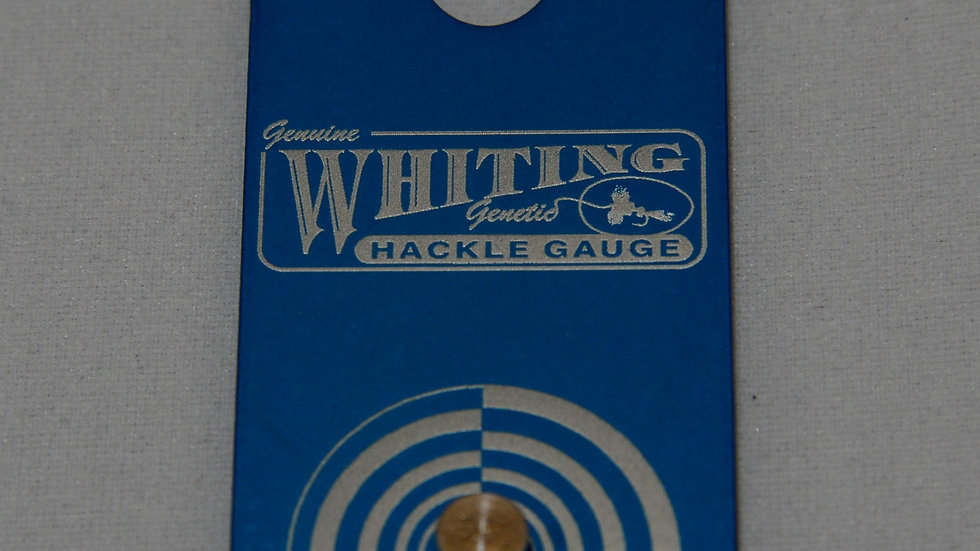 Whiting Hackle Gauge