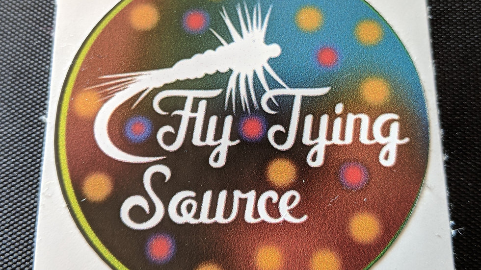 Fly Tying Source Decal