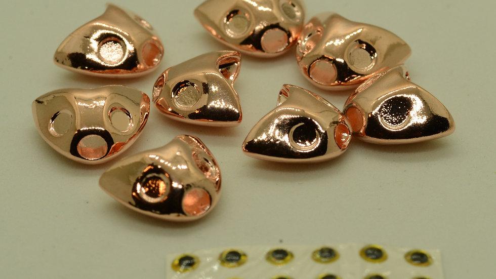 Tungsten Sculpin Heads Copper Color
