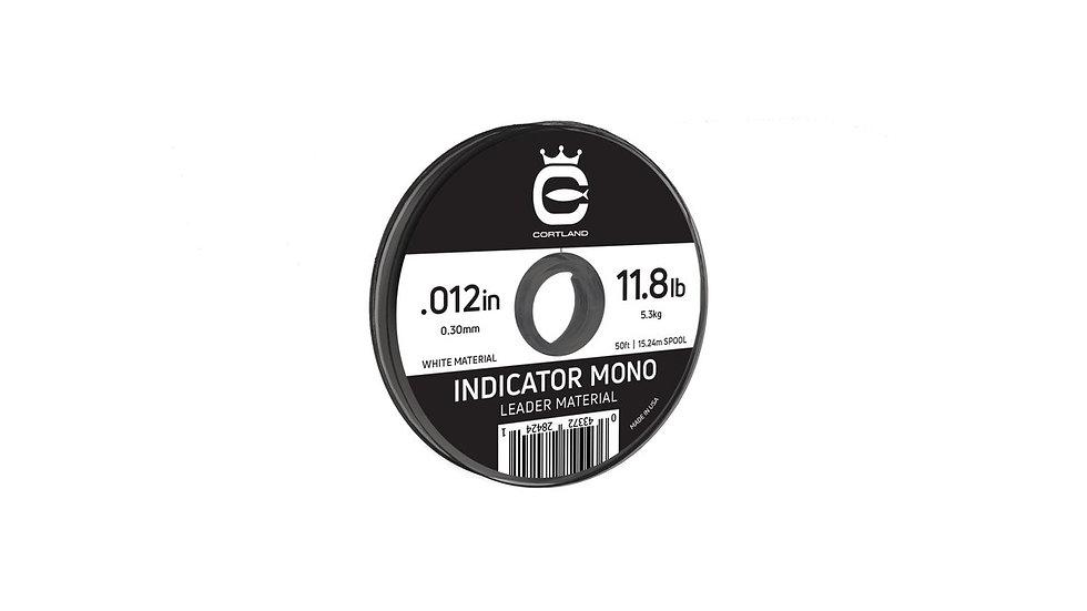 Cortland White Indicator Mono