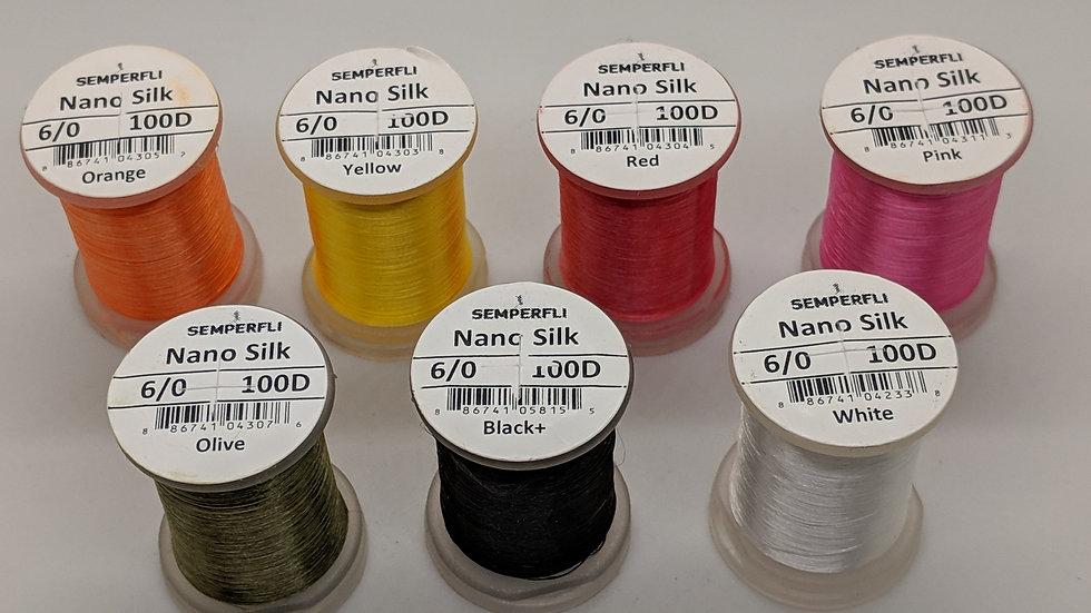Semperfli Nano Silk 6/0