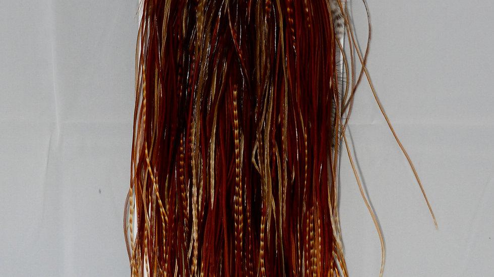 Whiting Midge Saddle Bronze Grade Dark Barred Ginger