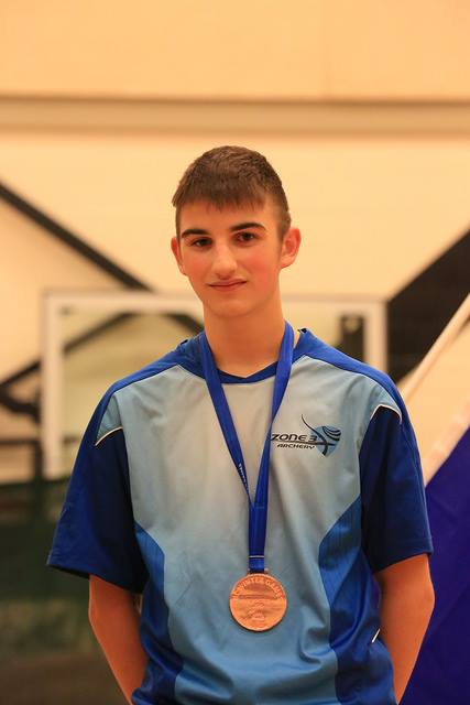 Jesse H wins Bronze in Male Recurve