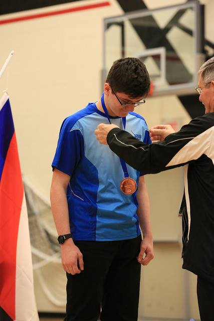 Ben Receives Bronze in Male Recurve Matchplay