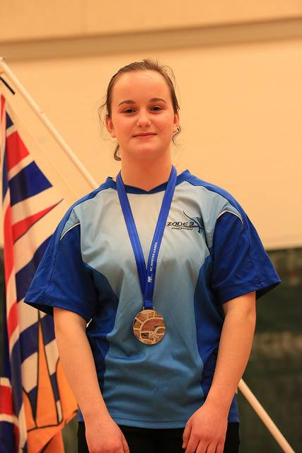 Mikaela wins Silver in Female Recurve