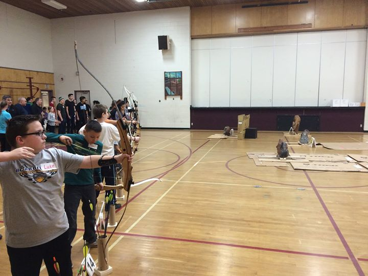 NAIG Archery Training Camp 3D Shoot