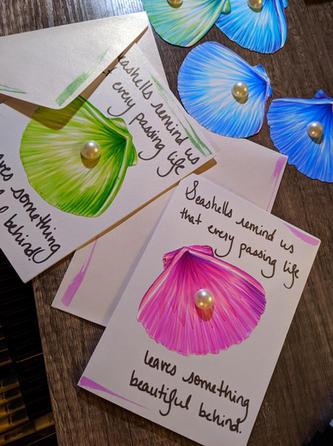 Seashells Cards