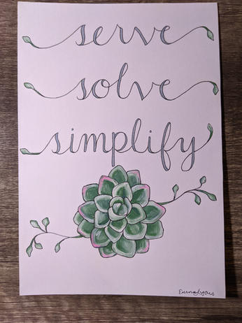 Serve, Solve, Simplify